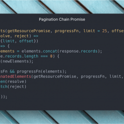 Trabajando con Promises: Pagination Promise Chain